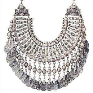 Bohemian coin necklace